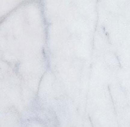 White Carrara tea standard Lastra Marmura Lustruita